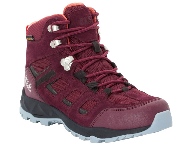 buy popular de7c7 c5065 Jack Wolfskin Vojo Hike XT Texapore Mid-Cut Schuhe Damen burgundy/phantom